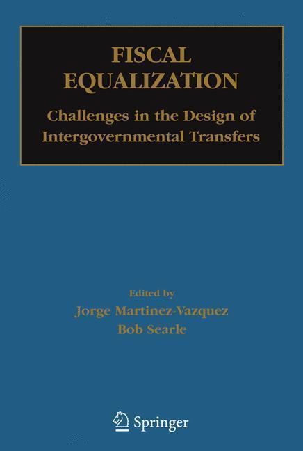 Fiscal Equalization Challenges in the Design of Intergovernmental Transfers