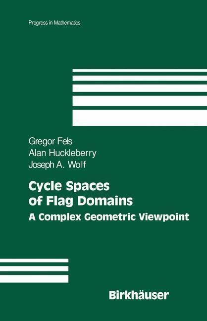 Cycle Spaces of Flag Domains A Complex Geometric Viewpoint