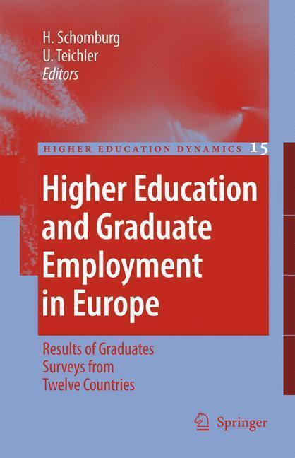 Higher Education and Graduate Employment in Europe Results from Graduates Surveys from Twelve Countries