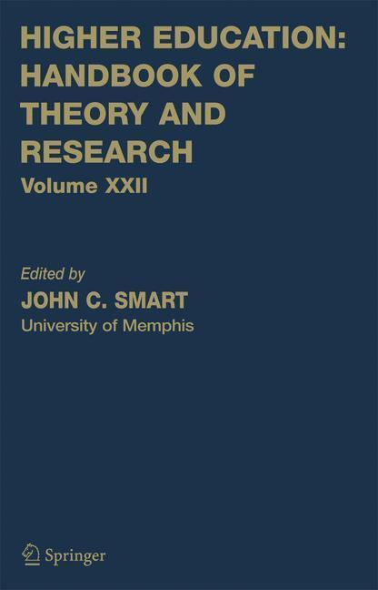 Higher Education: Handbook of Theory and Research Volume 22