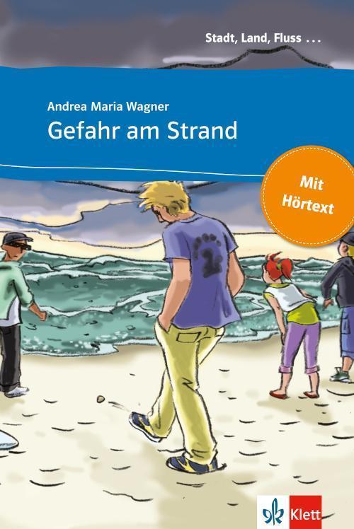 Gefahr am Strand Buch mit eingebettetem Audio-File A1