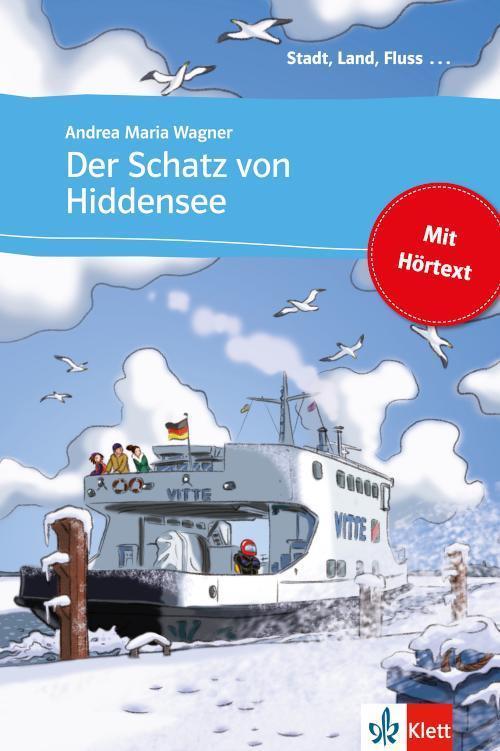 Der Schatz von Hiddensee Buch mit eingebettetem Audio-File A1