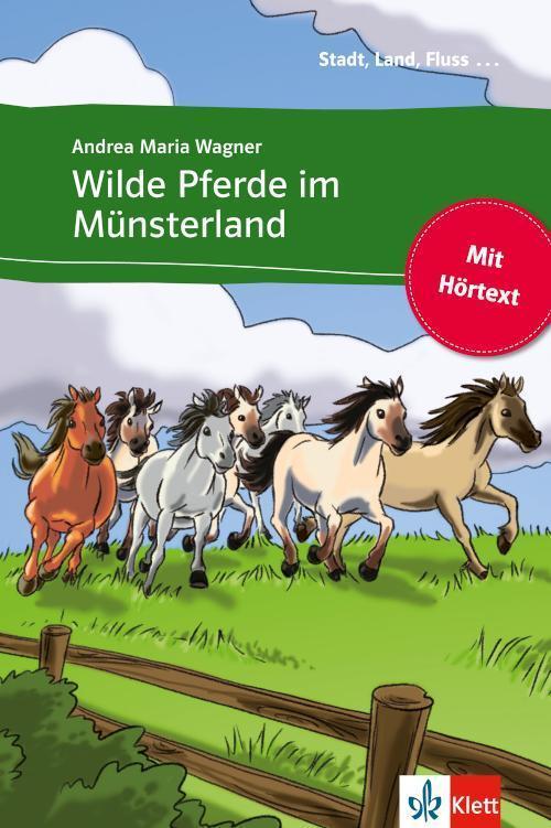 Wilde Pferde im Münsterland Buch mit eingebettetem Audio-File A1