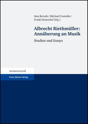Annäherung an Musik Studien und Essays