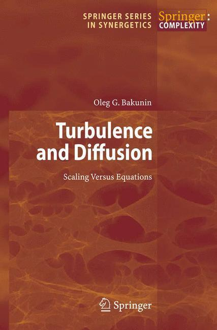 Turbulence and Diffusion Scaling Versus Equations