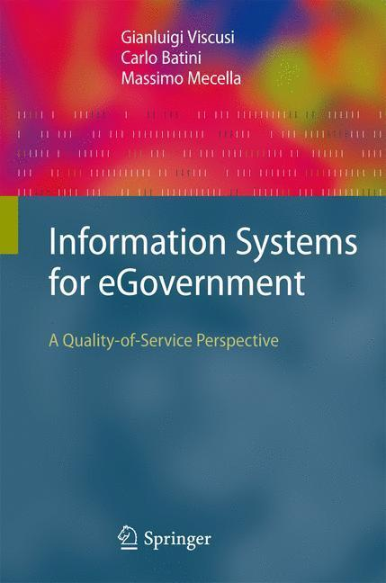 Information Systems for eGovernment A Quality-of-Service Perspective