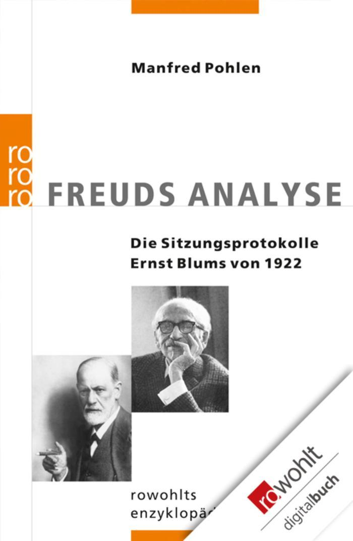 Freuds Analyse Die Sitzungsprotokolle Ernst Blums von 1922