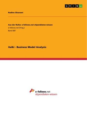 italki - Business Model Analysis