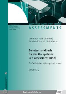 Benutzerhandbuch für das Occupational Self Assessment (OSA) Ein Selbsteinschätzungsinstrument