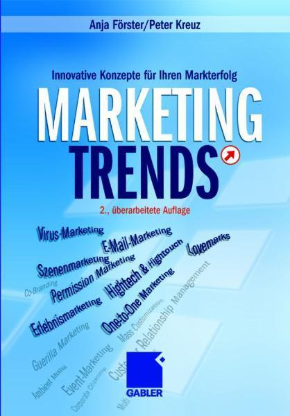 Marketing-Trends Innovative Konzepte für Ihren Markterfolg