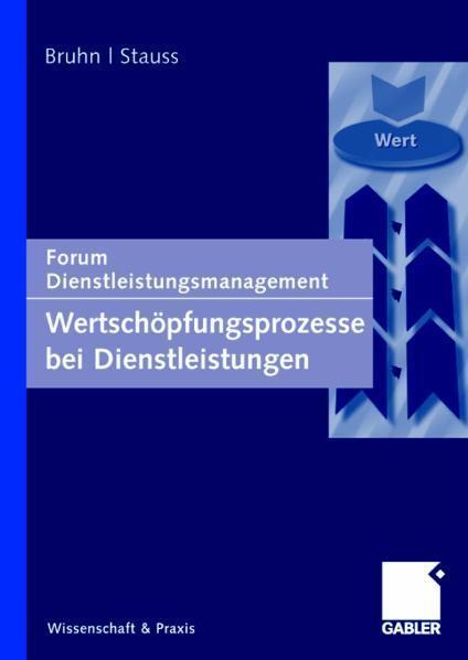 Wertschöpfungsprozesse bei Dienstleistungen Forum Dienstleistungsmanagement