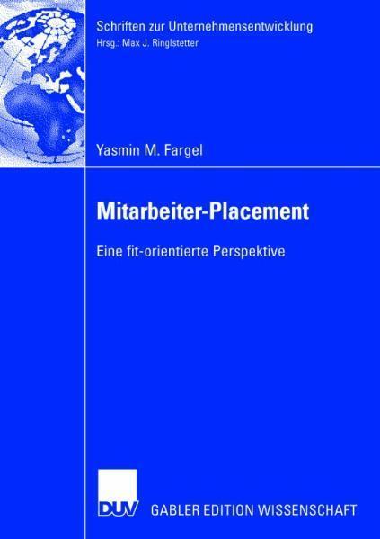 Mitarbeiter-Placement Eine fit-orientierte Perspektive