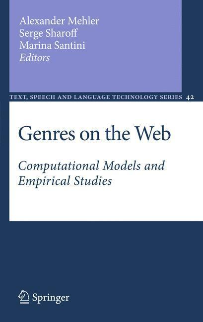 Genres on the Web Computational Models and Empirical Studies